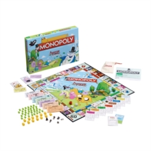Adventure Time Monopoly Board Game, Paperback Book