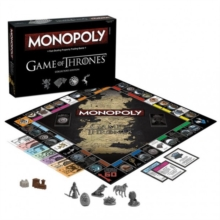 Game of Thrones Monopoly Board Game, Toy Book