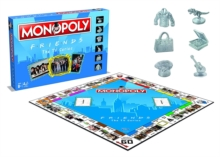 Friends Monopoly Board Game, Paperback Book