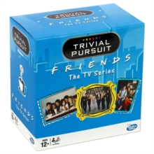 Friends Trivial Pursuit Bite Size Board Game, Toy Book