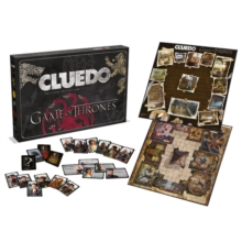 Game Of Thrones Cluedo Board Game, Toy Book
