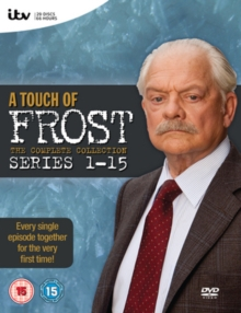 A   Touch of Frost: The Complete Series 1-15, DVD DVD