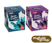CRYSTAL GROWING KIT 10CM,  Book