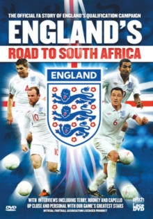 England's Road to South Africa, DVD  DVD