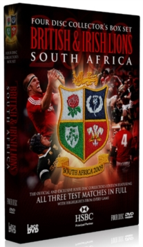 Lions Tour of South Africa - Complete Test Series, DVD  DVD