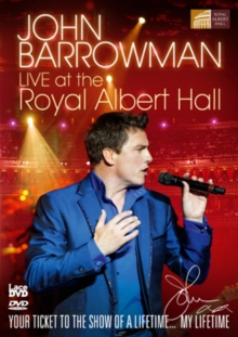 John Barrowman: Live at the Royal Albert Hall, DVD  DVD