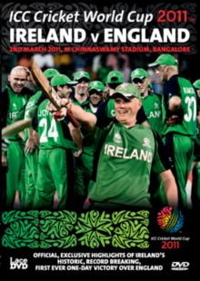 ICC Cricket World Cup Group Match - Ireland Vs England, DVD  DVD