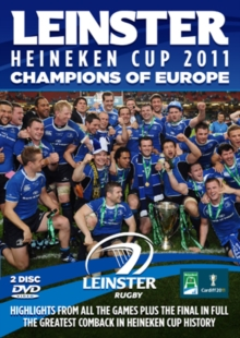 Heineken Cup 2011: Leinster - Champions of Europe, DVD  DVD