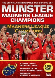 Munster Rugby: Magners League Champions, DVD  DVD