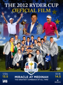 Ryder Cup: 2012 - Official Film - 39th Ryder Cup, DVD  DVD