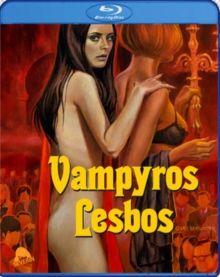 Vampyros Lesbos, Blu-ray  BluRay
