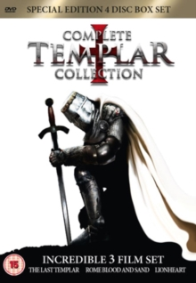 Complete Templar Collection, DVD  DVD