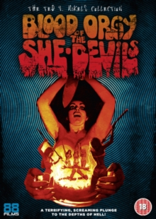 Blood Orgy of the She-devils, DVD  DVD