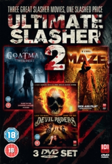 Ultimate Slasher Collection II, DVD  DVD