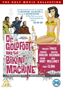 Dr. Goldfoot and the Bikini Machine, DVD  DVD