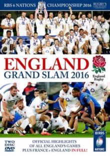 RBS Six Nations Championship: 2016 - England Grand Slam, DVD DVD