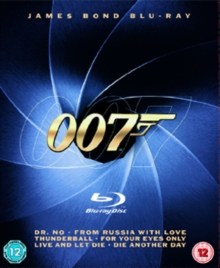 James Bond Collection, Blu-ray  BluRay