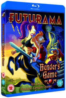 Futurama: Bender's Game, Blu-ray  BluRay
