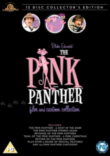 The Pink Panther Film and Cartoon Collection, DVD DVD