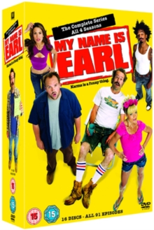 My Name Is Earl: Seasons 1-4, DVD  DVD