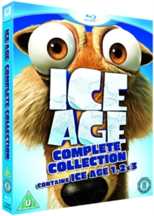 Ice Age 1-3, Blu-ray  BluRay