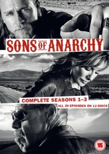 Sons of Anarchy: Complete Seasons 1-3, DVD  DVD