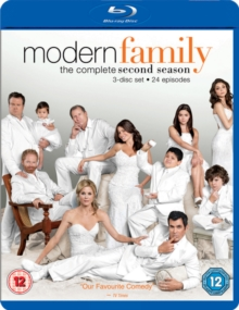 Modern Family: The Complete Second Season, Blu-ray BluRay