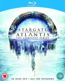 Stargate Atlantis: The Complete Seasons 1-5, Blu-ray  BluRay
