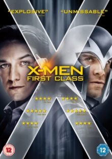 X-Men: First Class, DVD  DVD