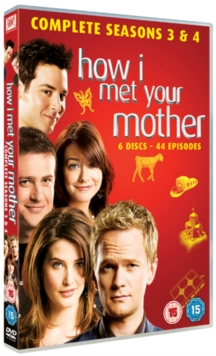 How I Met Your Mother: Seasons 3 and 4, DVD  DVD