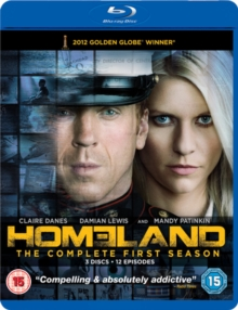 Homeland: The Complete First Season, Blu-ray BluRay