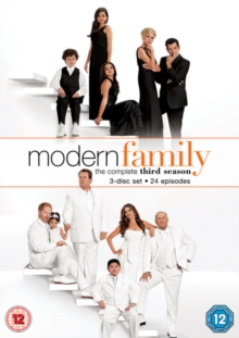 Modern Family: The Complete Third Season, DVD DVD
