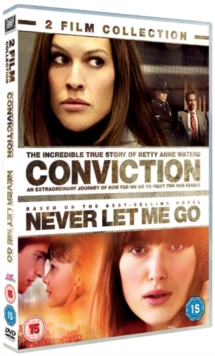 Conviction/Never Let Me Go, DVD  DVD