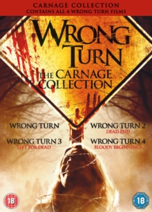 Wrong Turn 1-4, DVD  DVD