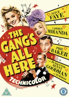 The Gang's All Here, DVD DVD