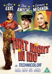 That Night in Rio, DVD  DVD