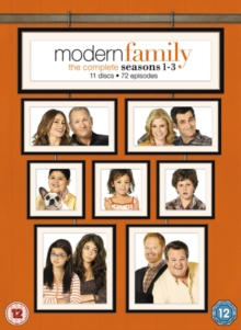 Modern Family: The Complete Seasons 1-3, DVD DVD