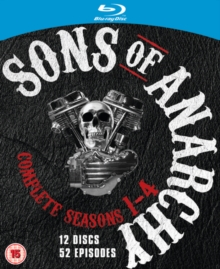 Sons of Anarchy: Complete Seasons 1-4, Blu-ray  BluRay