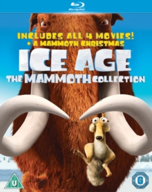 Ice Age 1-4 and Mammoth Christmas: The Mammoth Pack, Blu-ray  BluRay