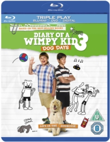 Diary of a Wimpy Kid 3 - Dog Days, Blu-ray  BluRay