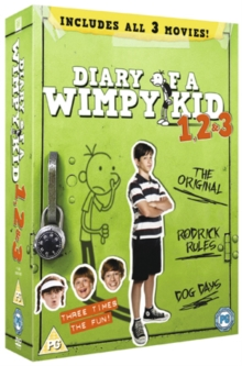 Diary of a Wimpy Kid 1, 2 & 3, DVD DVD