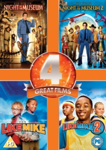 Night at the Museum/Night at the Museum 2/Like Mike/Like Mike 2, DVD  DVD