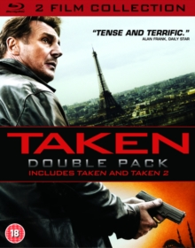 Taken/Taken 2, Blu-ray  BluRay