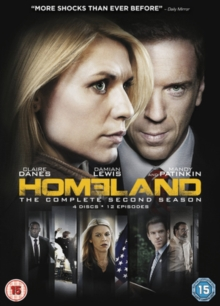 Homeland: The Complete Second Season, DVD DVD