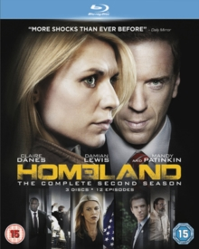 Homeland: The Complete Second Season, Blu-ray BluRay