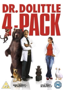 Dr Dolittle Quad Pack, DVD  DVD