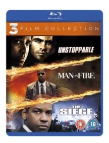 Unstoppable/Man On Fire/The Siege, Blu-ray  BluRay