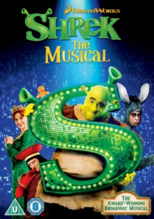 Shrek: The Musical, DVD  DVD