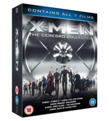 X-Men Franchise - The Cerebro Collection, Blu-ray  BluRay