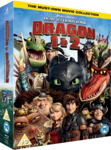 How to Train Your Dragon 1 & 2, Blu-ray BluRay